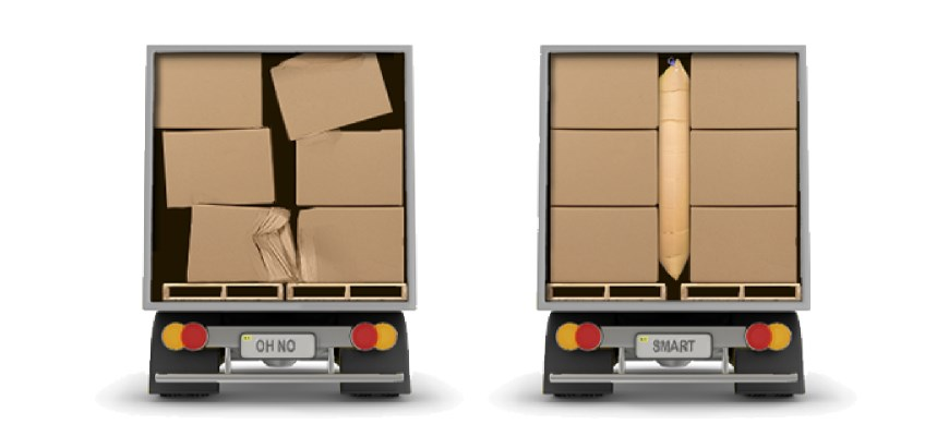 Dunnage Bags – Preventing Cargo damage the smart way